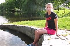 Jak swixuje v létě běžkyně na lyžích Petra Nováková | video