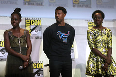 Lupita Nyong'o, Michael B. Jordan & Danai Gurira
