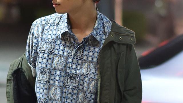 Uniqlo Batik Motif Duane Bacon Mens Wear Blogger Parka Jacket