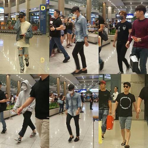 BIGBANG arrival Seoul ICN from Macau 2016-09-05lee.hyangi2