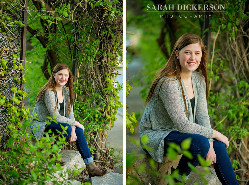 Kansas City senior portrait session