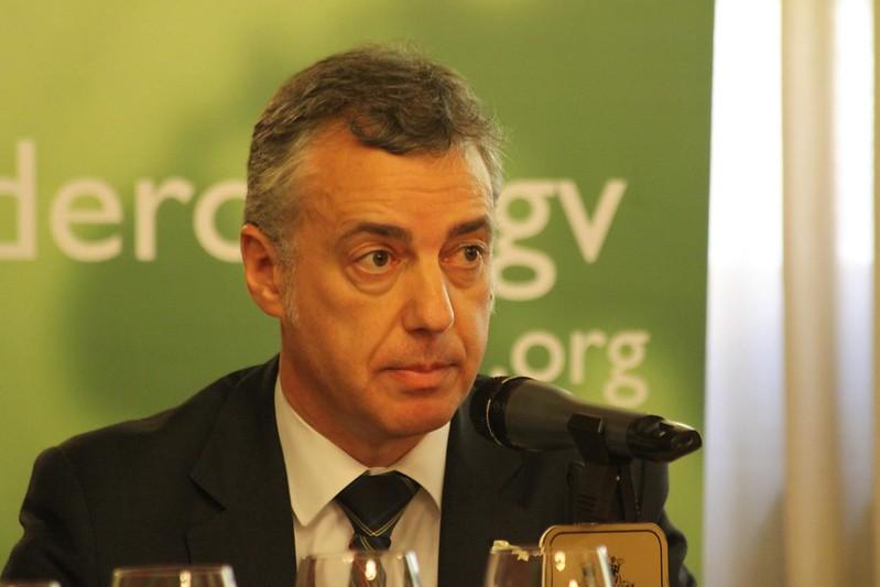 GVCECR con D. Iñigo Urkullu, Excmo. Sr. Lehendakari del Gobierno Vasco.