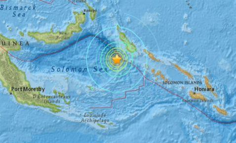 Papúa Nueva Guinea registra nuevo sismo de 7.2 grados; activan alerta de tsunami
