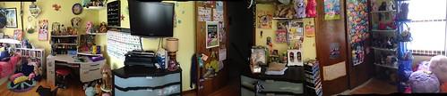 Bedroom panorama I
