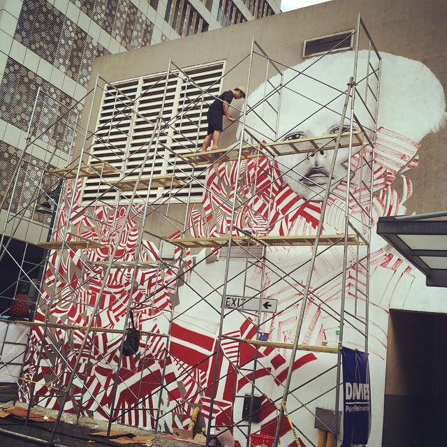 Mural in progress #ArtBGC #manila #streetart #streetmurals
