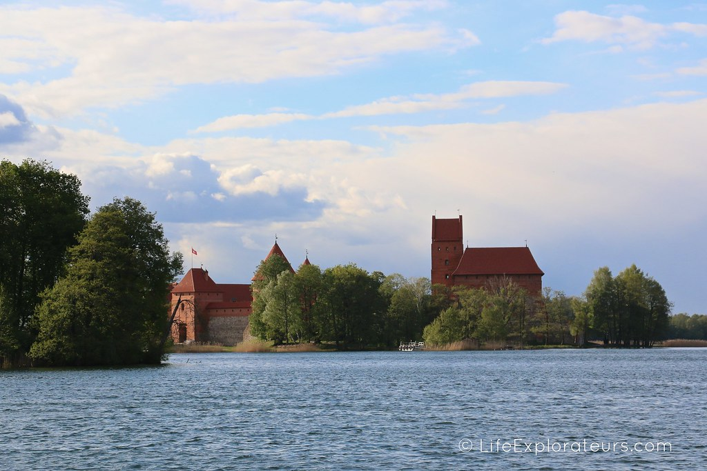 View on Trakai Castle