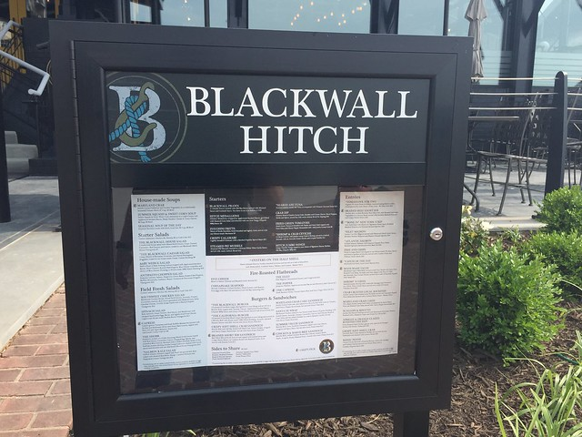 Blackwall Hitch in Old Town Alexandria, Virginia