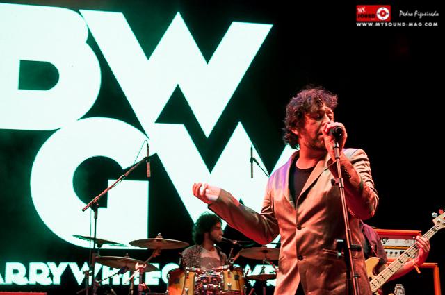 Barry White Gone Wrong em EDP Live Bands 2015