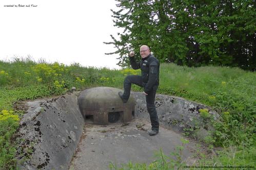Bunker-Besteigung