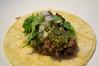 Bison HumpTacos w/salsa verde