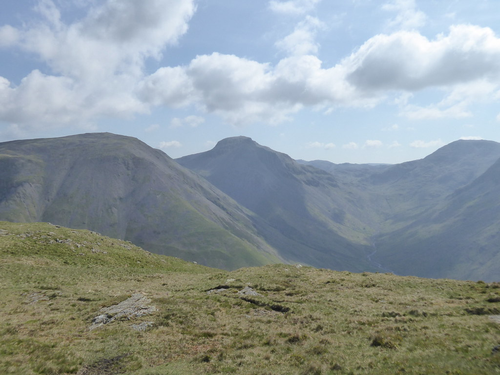 Great Gable from Yewbarrow