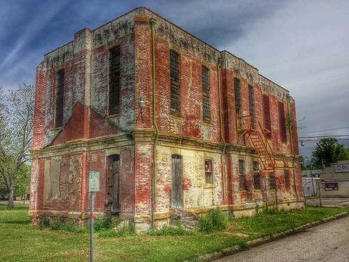 texas bowiecounty newboston boston us82 jail countyjail nationalregister nationalregisterofhistoricplaces