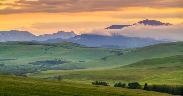 Cowboy Trail Sunset II