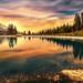 Mountain lake by Chrisnaton