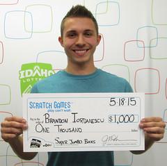 Brandon Iordanescu - $1,000 Super Jumbo Bucks