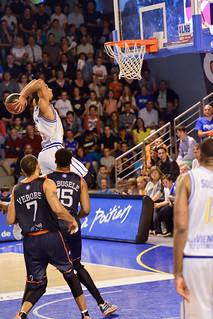 Basket, PB86 J34 : Poitiers - Roanne (2014-2015)