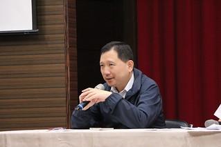 農委會水保局農村組副組長王志輝。攝影:黃小玲