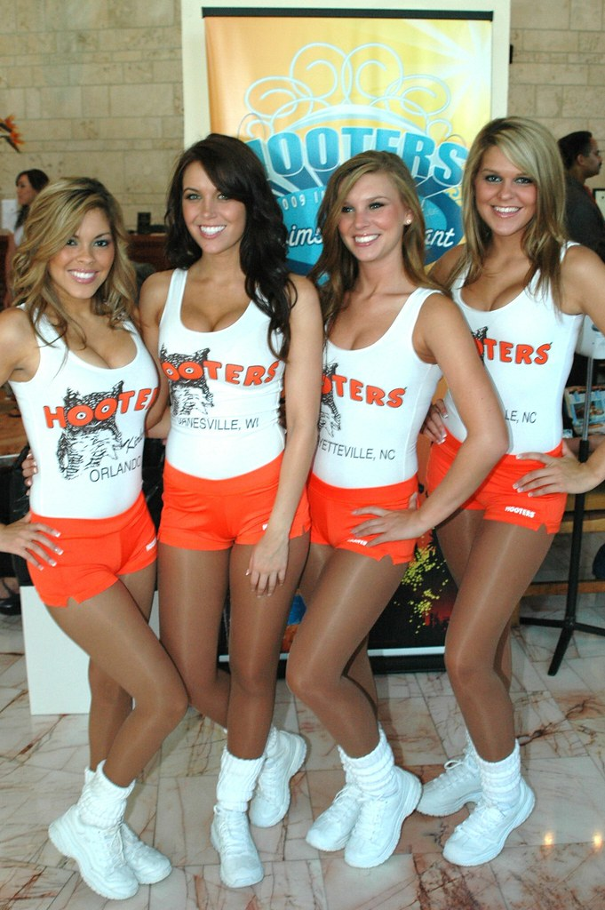 Remarkable, Hot girls in hooters uniforms