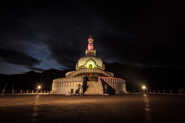 Santhi Stupa - Ladakh, India