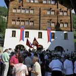 2010 Fahnenweihe der Gemeinde Mörel-Filet