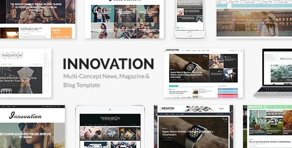 INNOVATION v5.3 – Multi-Concept News, Magazine & Blog Template