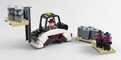 Futuristic Forklift