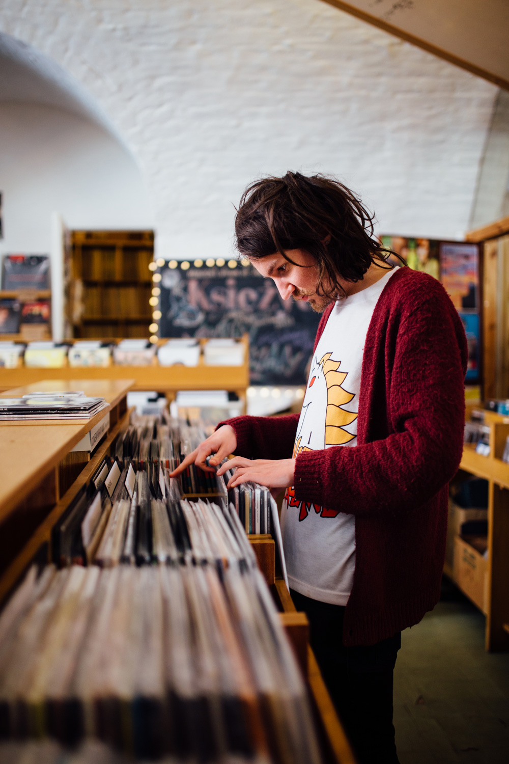 Record Shopping With Wuh Oh