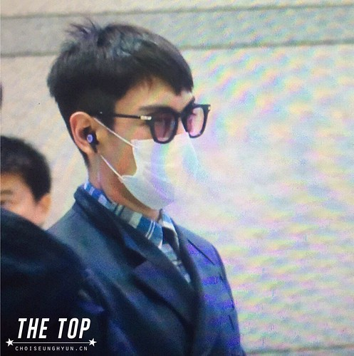 Big Bang - Incheon Airport - 03dec2015 - The TOP - 02