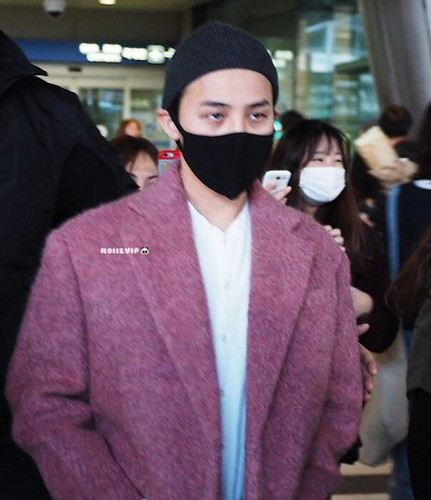 Big Bang - Incheon Airport - 22mar2015 - G-Dragon - NoiizVip - 01