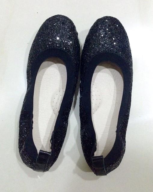 三十革平底鞋