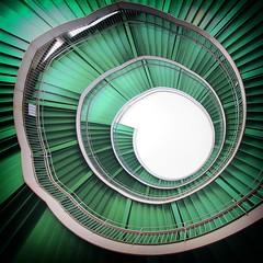 Green Spiral Flower