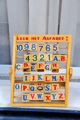 'Alfabet' Groenesteeg Leiden'