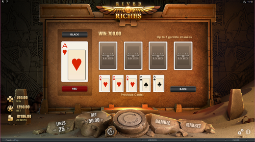 River of Riches Gamble Feature