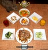 Seara (sea rabbit).  Photograph by Dr. Takeshi Yamada. 20120810 038. Grilled Chicken with Mush. TKG. Carrot & Celery S. Banana