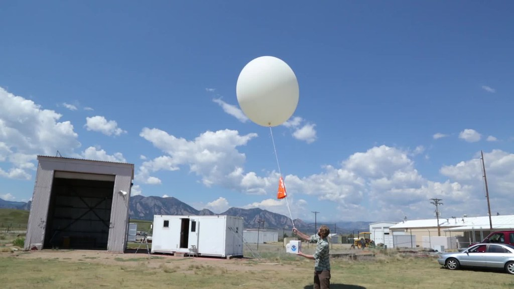 Ozonsonde release
