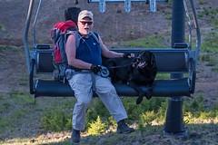 Bill n Reggie Dahl - Mt. Bachelor Chairlift 2