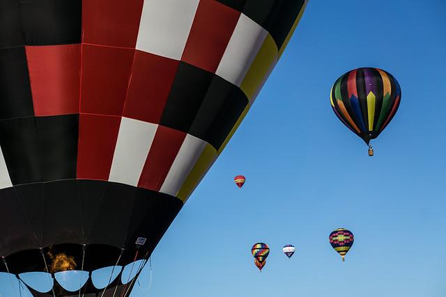 Drifting Balloons