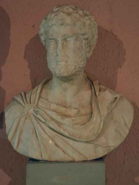 Bust of Marcus Aurelius, from Apollonia, Archaeological Museum of Tirana, Albania