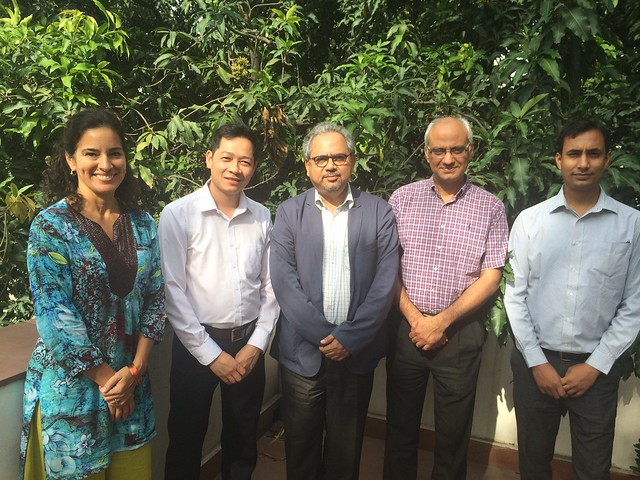Hung Nguyen in Delhi for IDRC Asia seminar