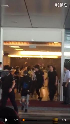 BIGBANG lArrival Shenzhen from Seoul 2015-08-07 008