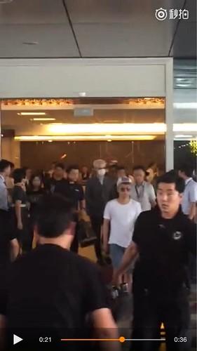 BIGBANG lArrival Shenzhen from Seoul 2015-08-07 002