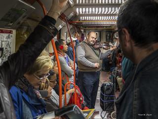 Viaje metro-musical ...