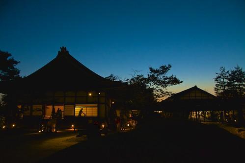 sunset sky japan temple spring nikon kyoto kodaiji 2015 zentemple d7100