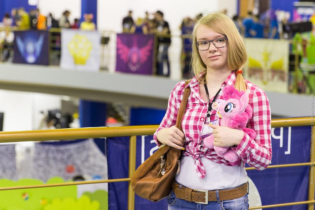Девушка-Эпплджек на Руброниконе-2015