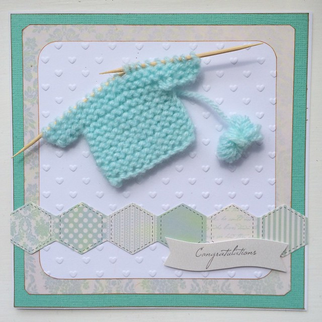 Knitting card congrats by StickerKitten