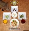 Seara (sea rabbit).  Photograph by Dr. Takeshi Yamada. 20120607 009 Shrimp with Lemon Sauce. SR w BSS. PC PBC. Chocolates. OJ BT