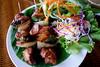 Cambodia 2015, Cambodian Eats, Titanic Restaurant Phnom Penh, grilled kabobs