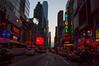 Invisible Manhattanhenge by UrbanphotoZ