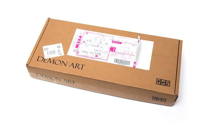 質感優先!設計為上!DEMON ART metal 超薄發光鍵盤 – 藍牙無線 / 金色 開箱 @3C 達人廖阿輝