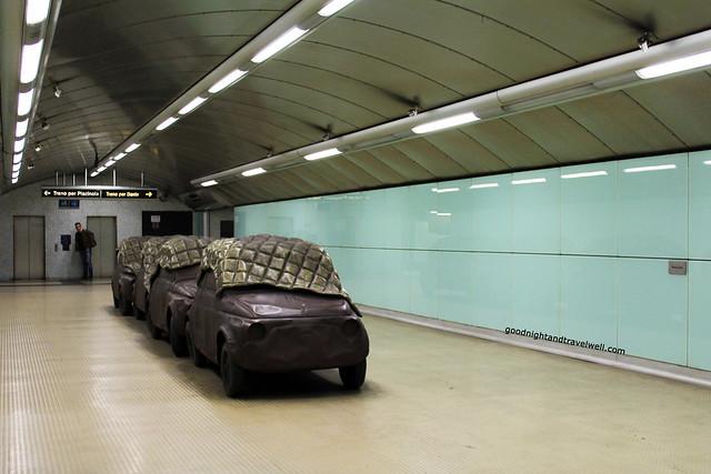 Napoli - metro